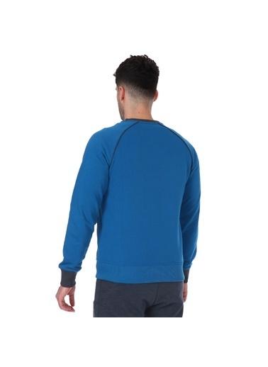 Sportive Sweblockcolor Erkek Yeşil Antrenman Sweatshirt 711376-Ptr Yeşil